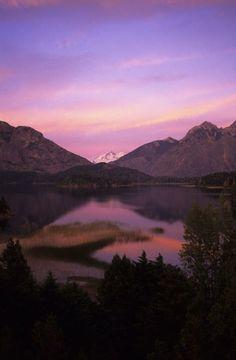 Argentina, Near Bariloche, Lake District, View of Tronador Volcano