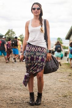 Sasquatchs Stylish Show-Goers Flaunt Serious Festival Fashion