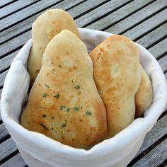 Indisk Naanbrød i ovnen
