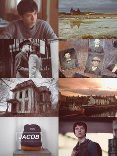 Emma Bloom // Jacob Portman • Miss Peregrine's Home for Peculiar Children