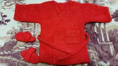 •●·✿ Vestaglia ROSSA + ciabatte SASHA DOLL Outfit For Vintage Doll  ✿ * •  | Dolls & Bears, Dolls, Clothing & Accessories, Baby Dolls & Accessories | eBay! https://presentbaby.com