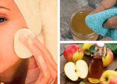 Facial cleansing with apple cider vinegar: cure- Gesichtsreinigung mit Apfelessig: Kur You will be astonished how your skin radiates on the basis of apple cider vinegar with this treatment, gaining firmness and losing its age spots. Beauty Care, Diy Beauty, Beauty Hacks, Apple Cider Vinegar Face, Apple Benefits, Facial Cleansing, Beauty Recipe, Homemade Beauty, Beauty Secrets