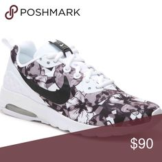 Floral Nike Sneakers Light weight Nike air sneakers that are great for exercising or to go along with an outfit! Nike Shoes Sneakers