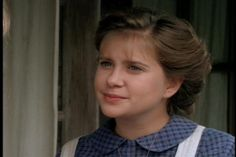 Kellie Martin in the series, Christy, the first and last mainstream TV show (it aired on CBS) to allow God to be the foundation... Episode Babe in the Woods