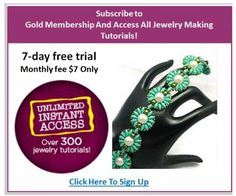 7-day free trial- UNLIMTED ACCESS TO PAST AND CURRENT ISSUES IN WEB-BASED FORMAT- ACCESS TO OVER 400 JEWELRY TUTORIALS (Scheduled via TrafficWonker.com)