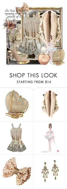 """""""Vintage Pretty"""" by jnp587 ❤ liked on Polyvore featuring Swarovski, The W Style, Mattel, Christian Dior, Jennifer Lopez and vintage"""