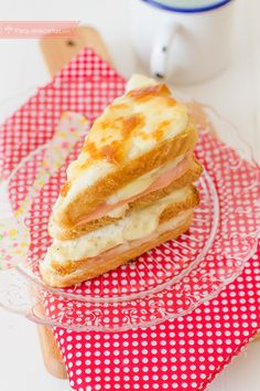 Sándwich Croque Monsieur, un clásico francés