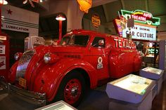 Henry Ford Museum Vintage Texaco Truck