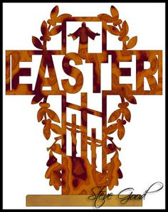 Wooden Cross Patterns Free | EASTER SCROLL SAW PATTERNS « Free Patterns