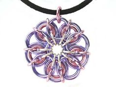 Learn a Weave - Celtic Flower Pendant - Beadsisters