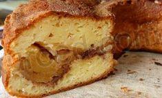 Яблочный пирог из творожного теста