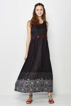 Meissa Sleeveless Maxi Dress
