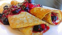Healthy Crepes - Gluten Free, Low Carb, Almond Flour & Eggs!! DELICIOUS!!!!