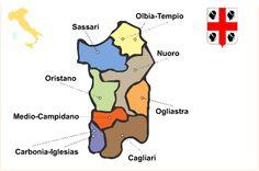 Region Sardinien - Sardegna Reiseführer http://www.italien-inseln.de/italia/sardinien-sardegna.html