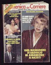 DOMENICA 44/1979 FIDEL CASTRO LUVI DE ANDRE' LOREDANA BERTE' BUD SPENCER PERISSI