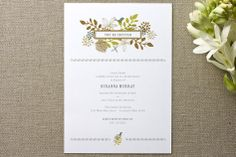 Fling Bridal Shower Invitations by Andrea Mentzer at minted.com