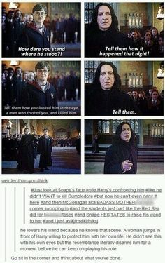 Snape. The King of Tortured Souls