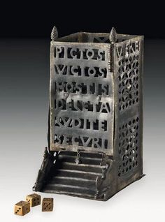 via @LoveArchaeology C4th #Roman dice tower. The Picts are defeated. The enemy is destroyed. Play in safety!