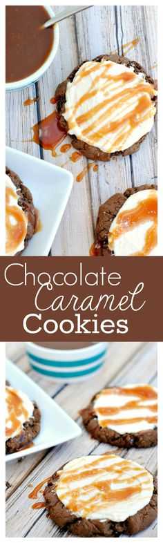 Chocolate Salted Caramel Cookies Recipe