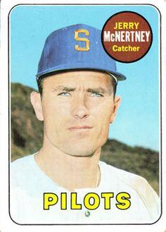 1969 Topps #534 Jerry McNertney Front