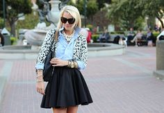 Atlantic-Pacific, poofy skirt, dalmation sweater