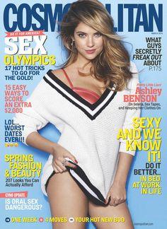 Ashley Benson Covers Cosmopolitan, Speaks on Pressure to Go Nude