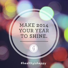 Make 2014 your year to shine. #caregiver Fit Motivation, Fitness Motivation Quotes, New Year New You, Happy New Year, Words Of Hope, Wise Words, How I Feel, How Are You Feeling, Word 2014
