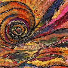 Sophie Gelphi textile art.