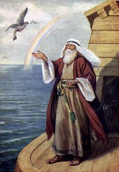 Noah's Ark, the Flood, and the Curse of Canaan, Ham's Son: Noah Sends a Dove from the Ark