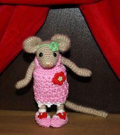 Amigurumi MOUSE - MALE crochet pattern