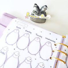 Penguin Weekly Planner