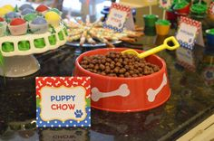 Dogs / Puppies Birthday Party Ideas | Photo 10 of 33