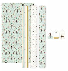 Gift Wrapping Paper Pimpelmees - 3 Rolls – OBNI World