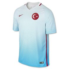 5707bc705 Turkey Euro 2016 Away Men Soccer Jersey Personalized Name and Number ·  Turkey FootballNike ...