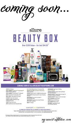 Allure Beauty Box Fall 2014 - My Newest Addiction Beauty Blog