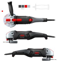 SKIL powertools by FLEX/the INNOVATIONLAB, via Behance