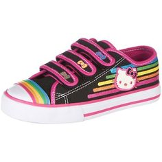 0ef27ec448316d Hello Kitty Idella Athletic Sneakers Shoes Black « Shoe Adds for your  Closet Cartoon Shoes