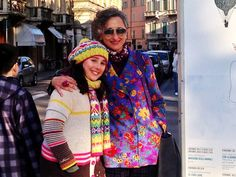 """Iosetta e Lucrezia """"Siamo di Fidenza ma appena possiamo facciamo un salto a Parma, il suo centro storico e i negozi ci attraggono sempre."""""""