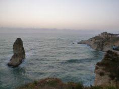 Raouché in بيروت, محافظة بيروت
