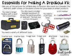 First Grade Garden: Breakout EDU... What Is It??