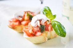 Entführen Sie Ihre Gäste nach Italien mit dem #Bruschetta ala Toskana Art Rezept.
