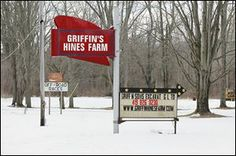 The Blues is back! Griffin Hines Farm is on the west side of State Rt. 295 south of U.S. 20A near Swanton. There are several variations of the farm name.