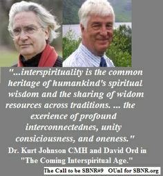 David Ord, co-author of the award-winning book, The Coming Interspiritual Age, talks at the 2014 event.  Register now at www.bigiconference.org
