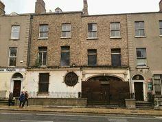 The former studios of Harry Clarke on Camden Street, sadly delapidated today. Camden Street, Dublin Street, Dublin City, Harry Clarke, Photo Engraving, Old Photos, Paths, Ireland, Irish