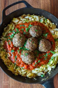 Best Meatballs Ever - The Feisty Kitchen