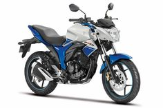 Suzuki announced that its popular Gixxer bikes would be available in traditional racing colours and also in dual tone colours: Blue and White, Black and Red Used Bikes, Cool Bikes, Suzuki Motos, Yamaha Fz, Performance Bike, Upcoming Cars, Bike News, Auto News, Motorcycles