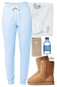 Lazy Road Trip by daisym0nste ❤ liked on Polyvore featuring Gildan, Lija, UGG Australia and ASOS