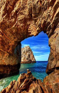 The Great Arch 'El Archo' at Lands End, Cabo San Lucas. I first went there in 1996 and then again on a cruise with Trevor.