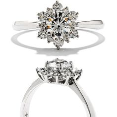 Gorgeous! What's not to love about the Delight Lady Di ring? http://www.frassanitojewelers.com/catalog/hearts-fire-delight-lady-engagement-ring-p-639.html