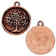 Nunn Design Charm, Tree of Life 20x23mm, 1 Piece, Antiqued Copper Nunn Design http://www.amazon.com/dp/B011J1Z0SU/ref=cm_sw_r_pi_dp_QIQdxb1R42R7X